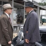 First look image from The Highwaymen featuring Kevin Costner and Woody Harrelson