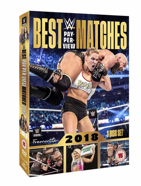 WWE: Best Pay-Per-View Matches 2018 comes to DVD in January