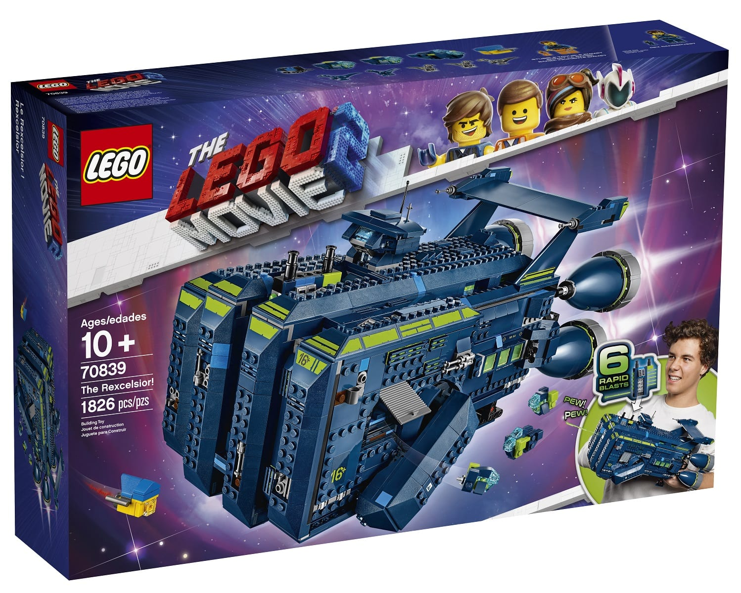 the lego movie 2 the second part 39 s 39 the rexcelsior 39 tie. Black Bedroom Furniture Sets. Home Design Ideas