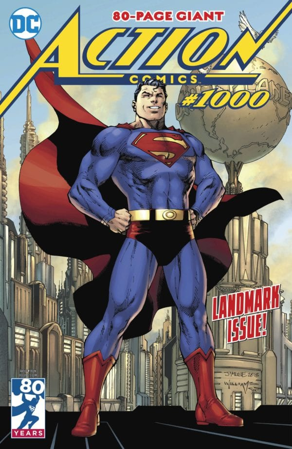 Action Comics #1000 and The Infinity Gauntlet top bestselling comic books and graphic novels of 2018