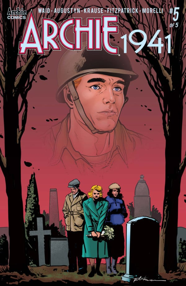 Archie Andrews is M.I.A. and presumed dead in first look preview of Archie 1941 #5