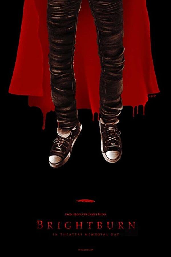 UPDATE: James Gunn's supervillain origin horror Brightburn gets a poster
