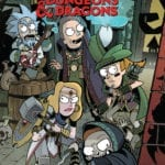 Preview of Rick and Morty vs. Dungeons & Dragons #4