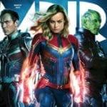 Brie Larson, Ben Mendelsohn and Jude Law grace Empire's Captain Marvel cover