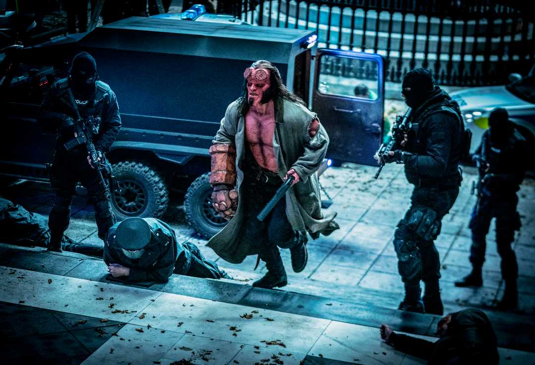 New image of David Harbour's Hellboy from the upcoming reboot | Flickering Myth