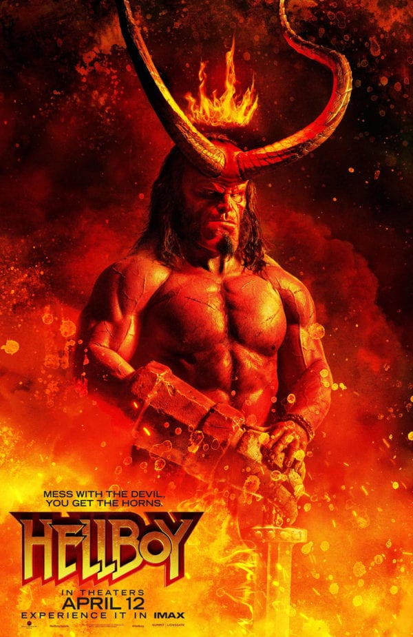 The Hellboy reboot gets a fiery new poster