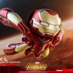 Hot Toys' Avengers: Infinity War Iron Man Mark L Cosbaby revealed