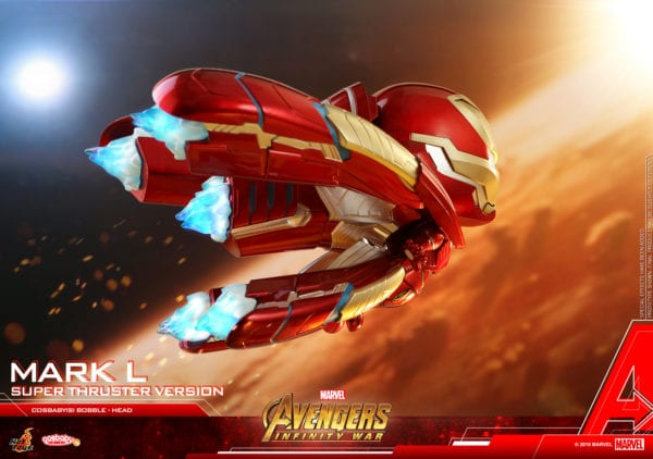 Hot Toys' Avengers: Infinity War Iron Man Mark L Cosbaby