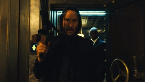 Keanu Reeves returns to The Continental in first John Wick 3 poster