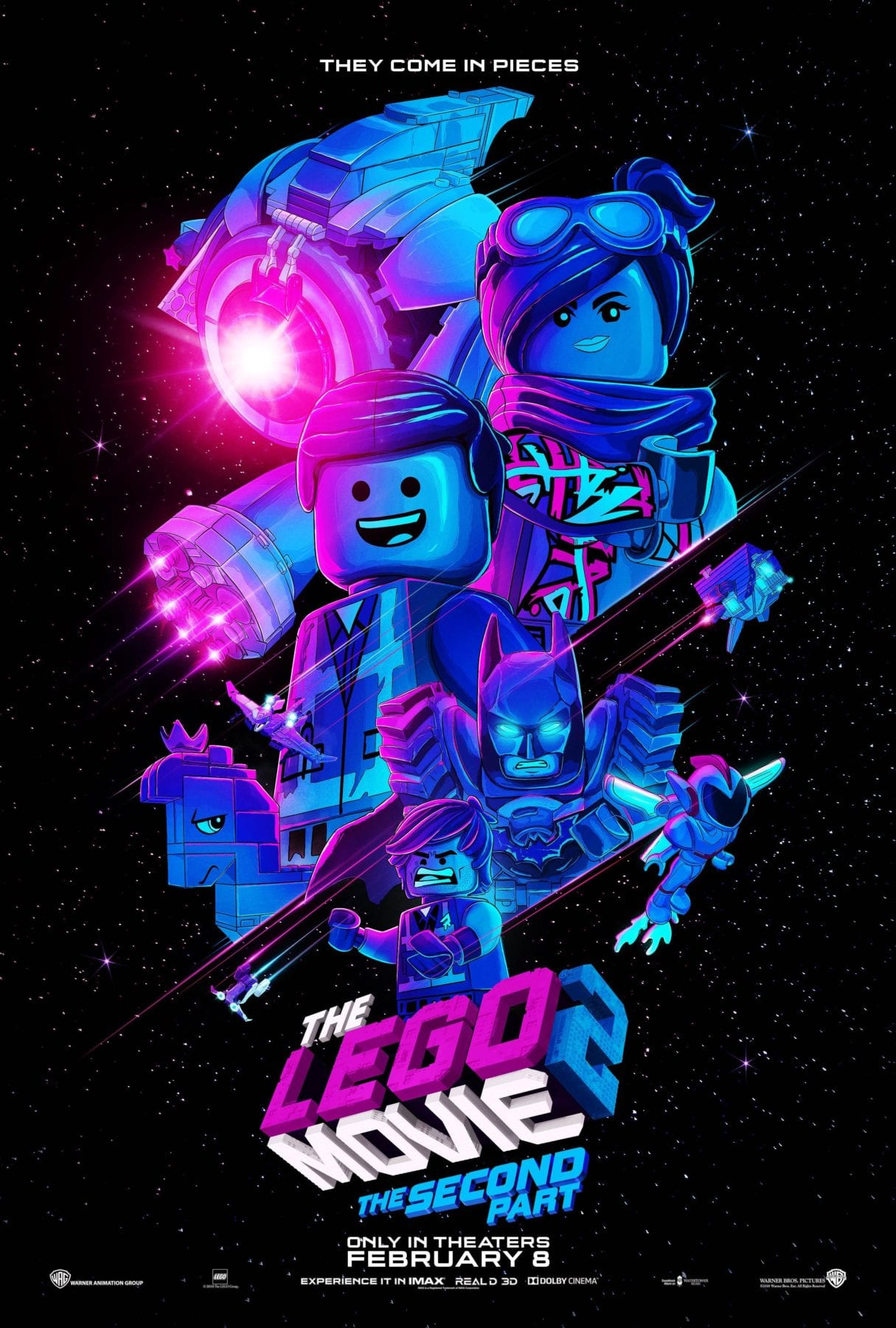 The LEGO Movie 2: The Second Part gets a new poster