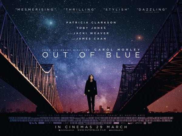 Patricia Clarkson stars in trailer for neo-noir mystery thriller Out of Blue