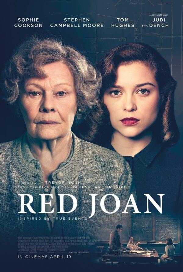 Trailer for spy thriller Red Joan starring Judi Dench and Sophie Cookson
