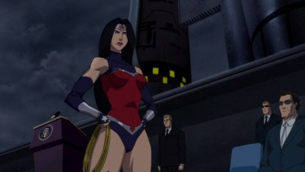 new images from reign of the supermen animated movie