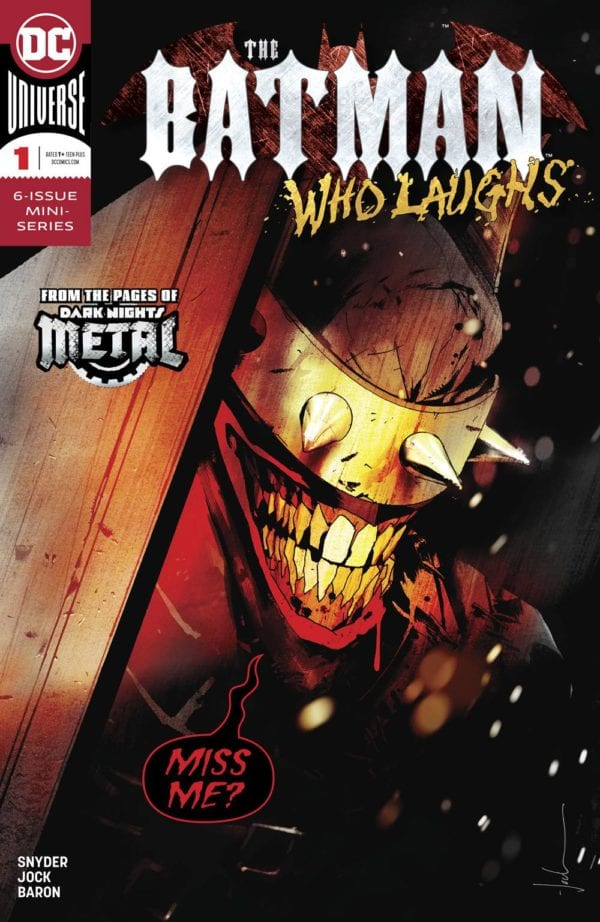 The Batman Who Laughs and Paper Girls lead December 2018's bestselling comic book and graphic novel charts