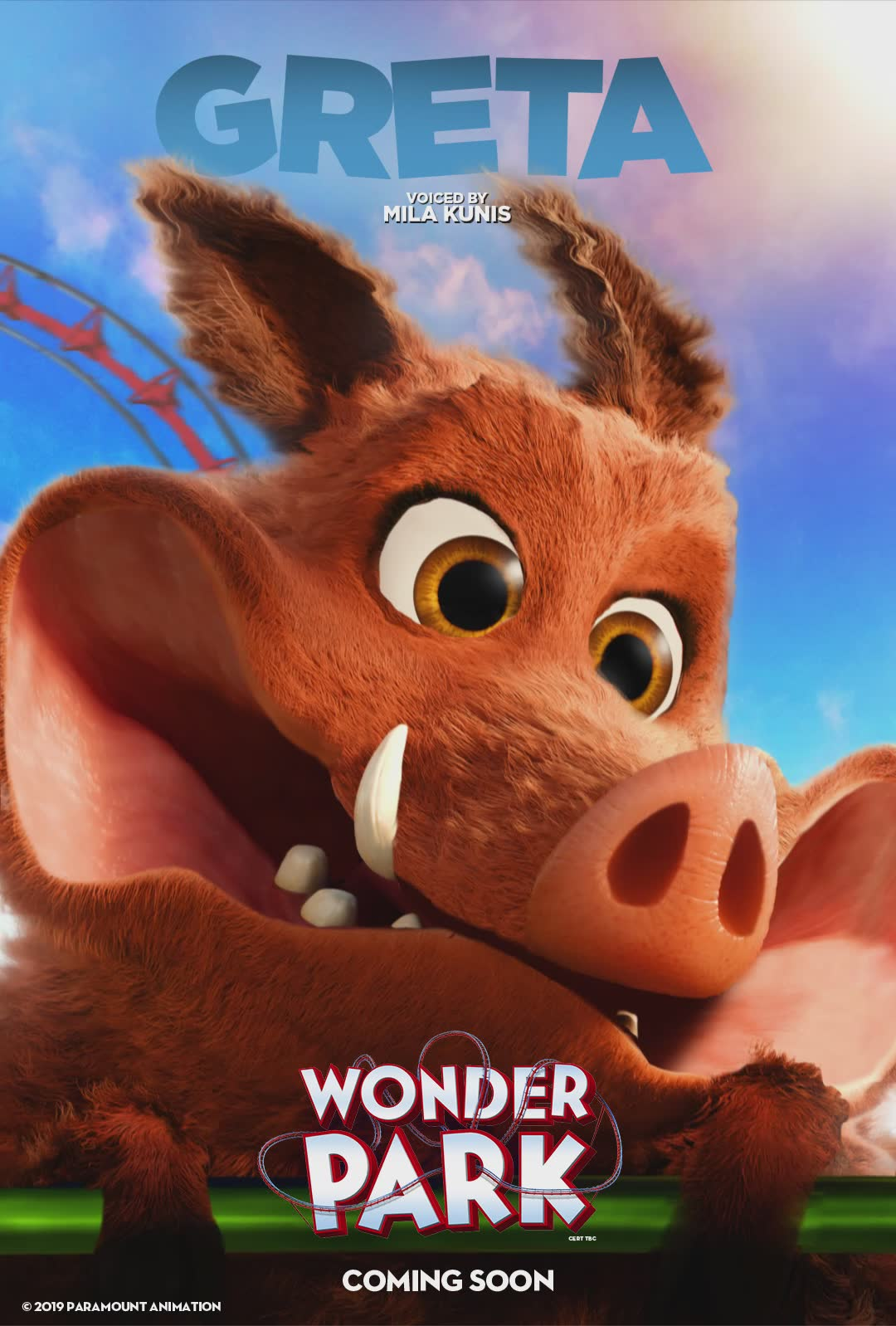 Wonder Park gets six character posters | Flickering Myth