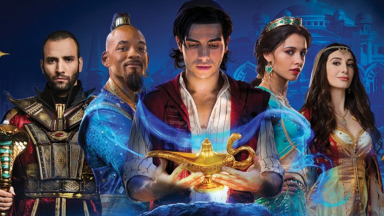 Aladdin 2019: Disney's Aladdin Gets A New Banner Featuring Aladdin