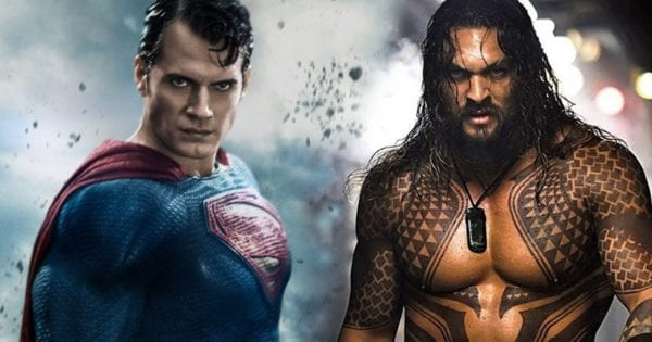 Henry Cavill posts a shirtless Jason Momoa impression to praise Aquaman