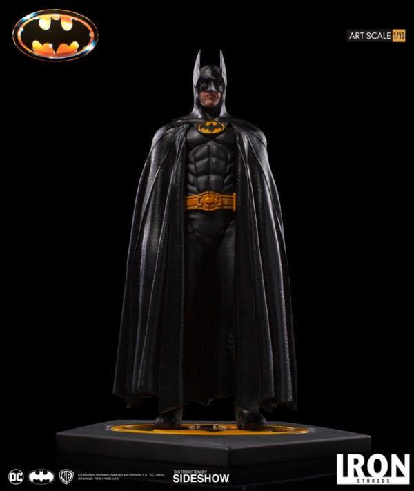 Michael Keaton's Batman gets an Art Scale statue from Iron Studios