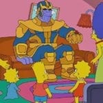 Thanos decimates The Simpsons in latest couch gag