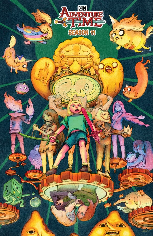 Comic Book Preview - Adventure Time Season 11 #5