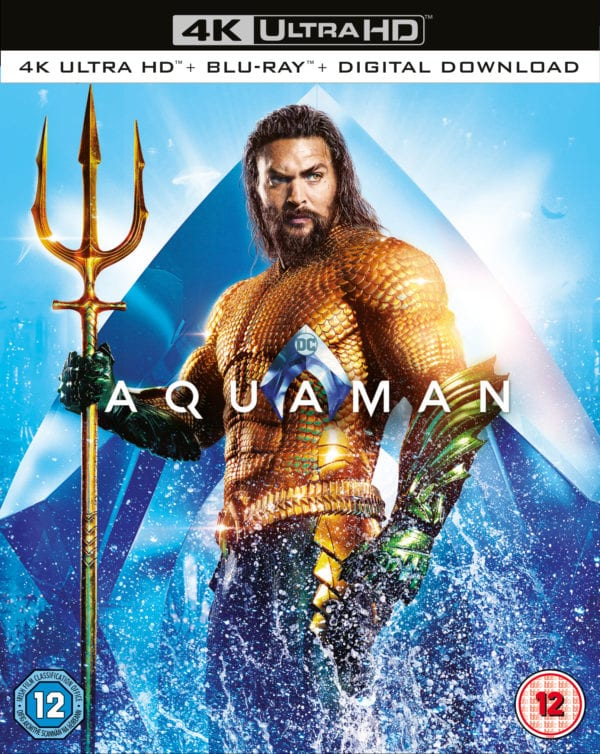 Aquaman 4K Ultra HD, Blu-ray and DVD details and special