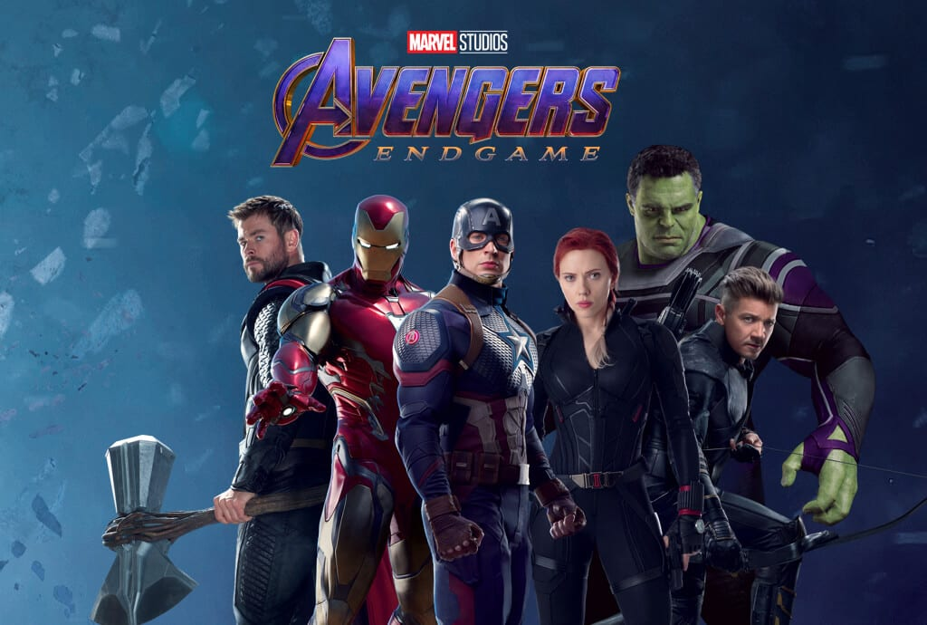 Marvel S Original Avengers Assemble For New Endgame Promo Art Flickering Myth