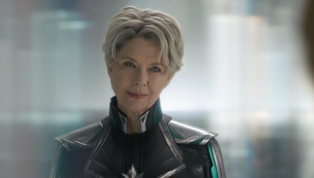 captain marvel clip confirms the identity of annette bening's