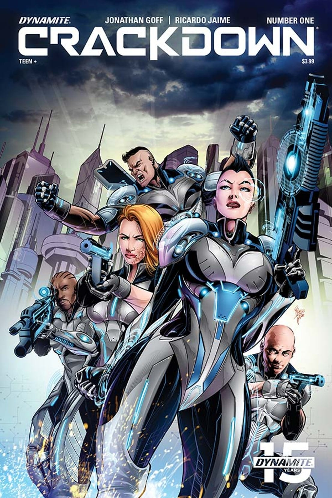 Comic Book Preview – Crackdown #1