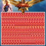 Captain Marvel takes us back to the 90s with Magic Eye posters