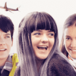 UK poster and trailer for Departures starring Asa Butterfield, Maisie Williams and Nina Dobrev