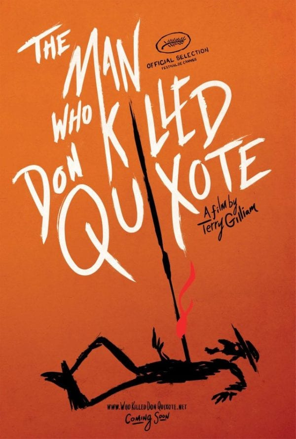 Terry Gilliam's The Man Who Killed Don Quixote gets a new poster