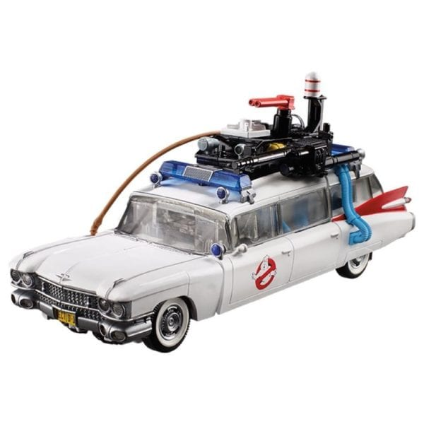 Ghostbusters and Transformers action figure mash-up Ecto 1 Ectotron unveiled by Hasbro