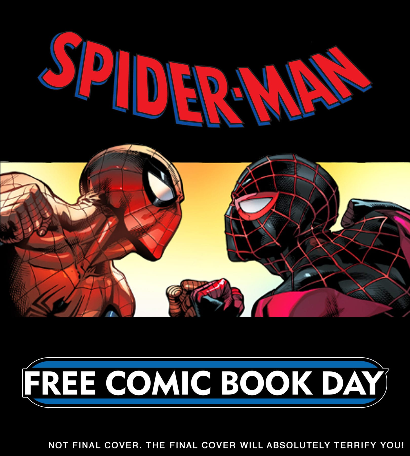Free Comic Book Day Postcard: Marvel Announces Spider-Man/Venom #1 For Free Comic Book