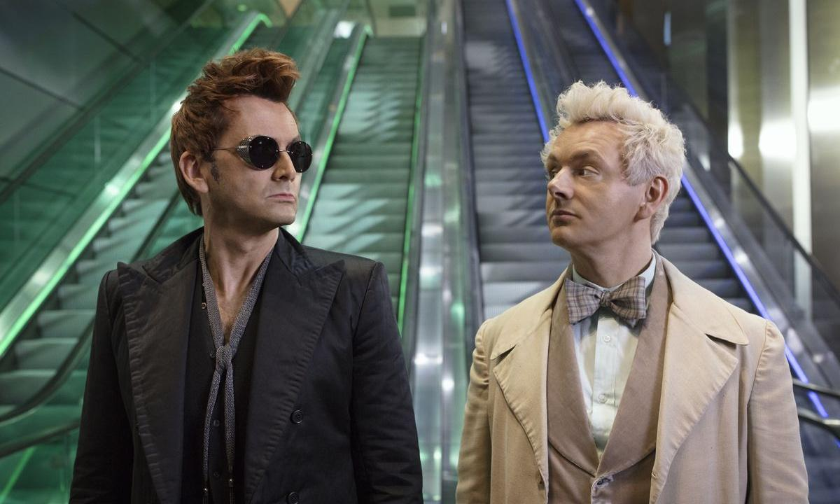 Watch the opening title sequence from Amazon's Good Omens