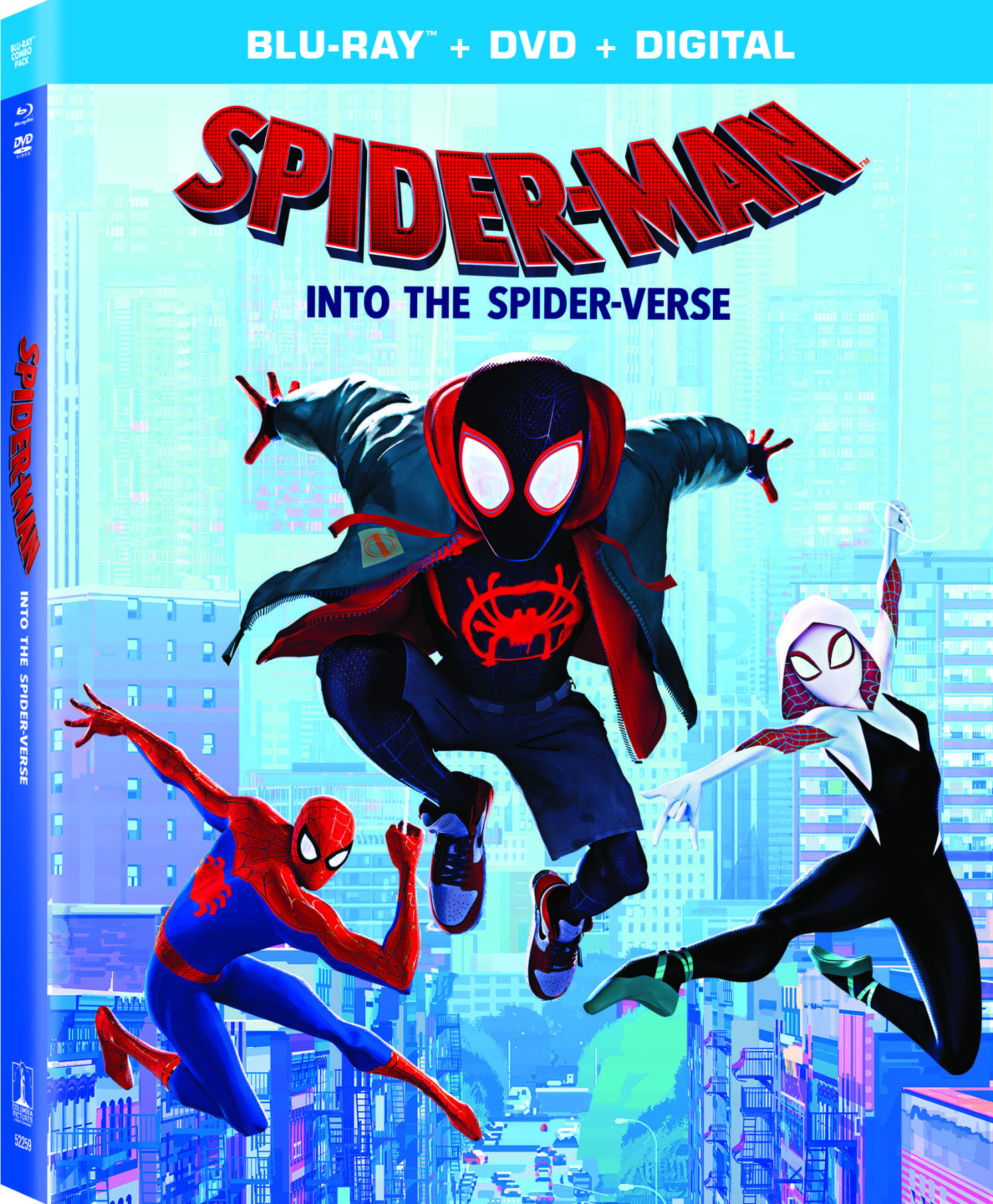 Spider-Man Into The Spider-Verse 4K Ultra Hd, Blu-Ray And Dvd Details And Special -3431