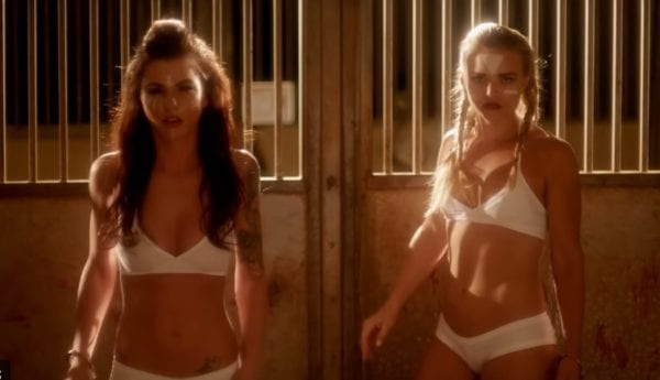 Strippers fight to the death in trailer for Kiss Kiss