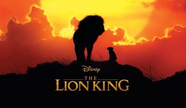 New banner for Disney's The Lion King featuring Simba and Mufasa