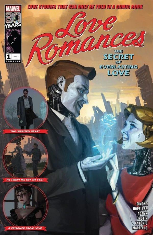 Comic Book Preview – Marvel's Love Romances #1