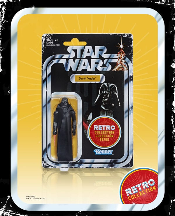 Classic Kenner action figures return with Hasbro's Star Wars Retro Collection!