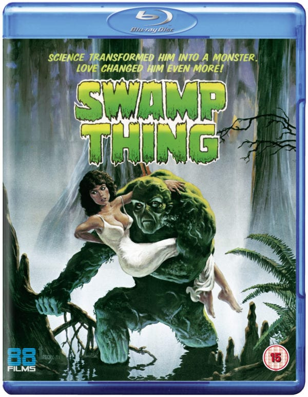 Wes Craven's Swamp Thing to receive UK Blu-ray release