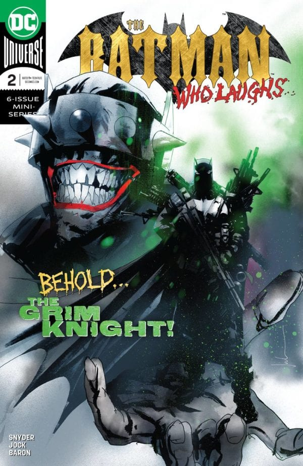 The Batman Who Laughs and Dark Knights: Metal top bestselling comics and graphic novels of January 2019