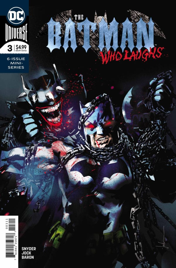 Comic Book Preview – The Batman Who Laughs #3
