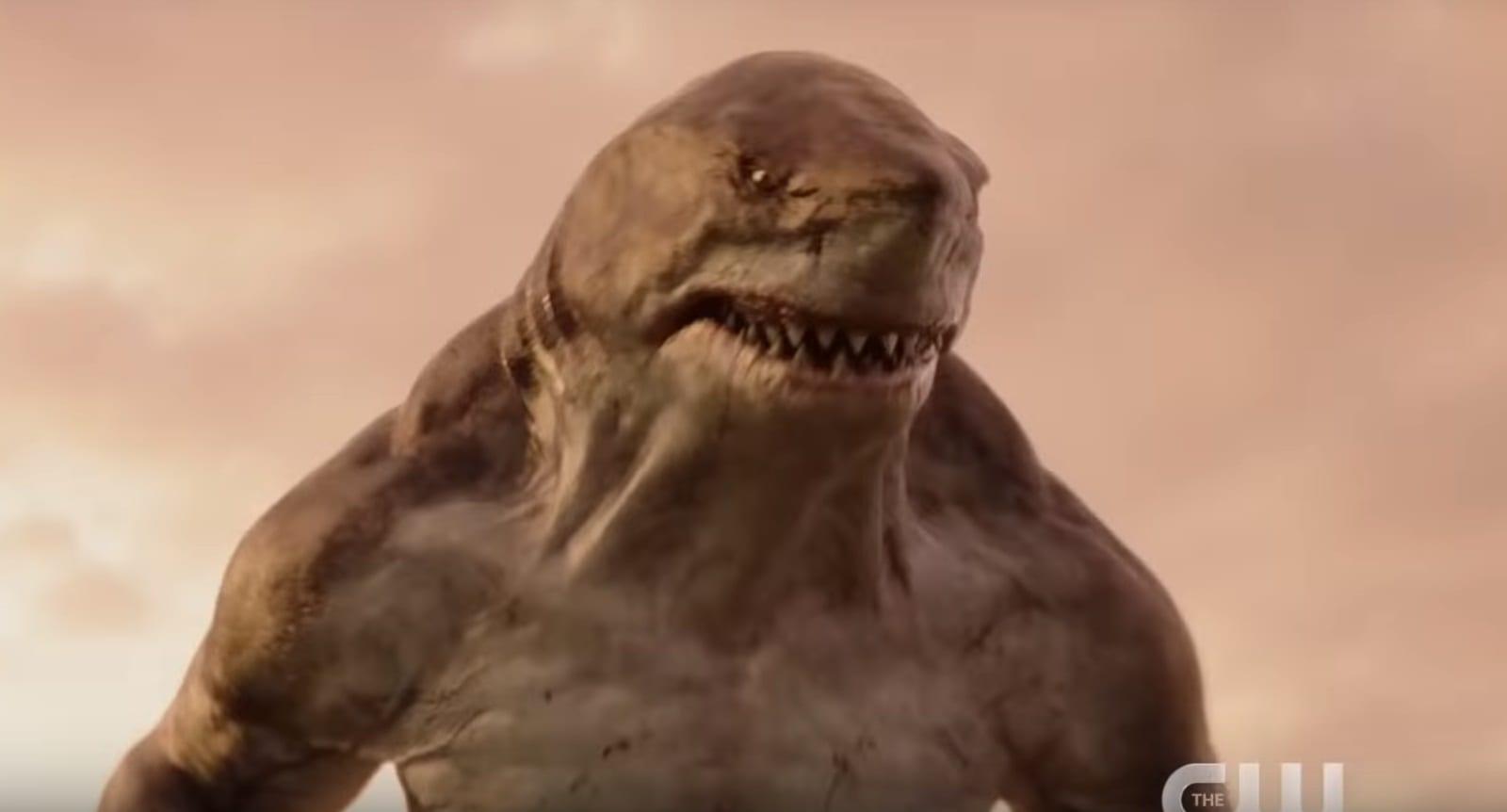 King Shark vs. Gorilla Grodd in promo for The Flash Season 5 Episode 15