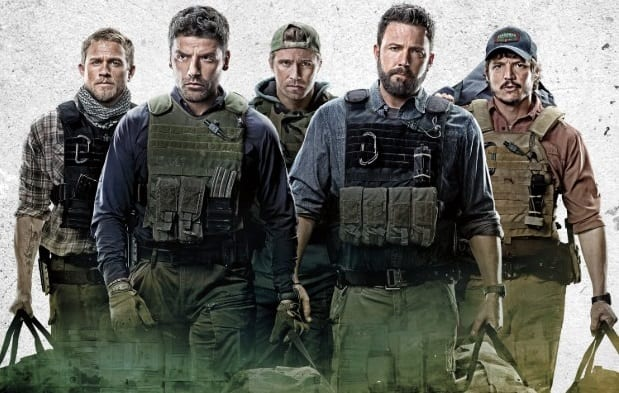 First Poster For Triple Frontier Featuring Charlie Hunnam