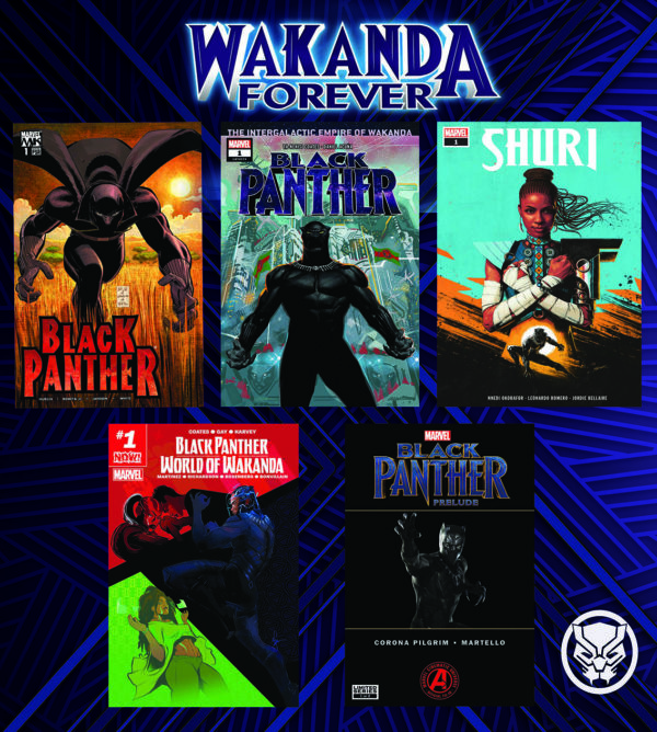 Grab a FREE bundle of digital Black Panther comics courtesy of Marvel