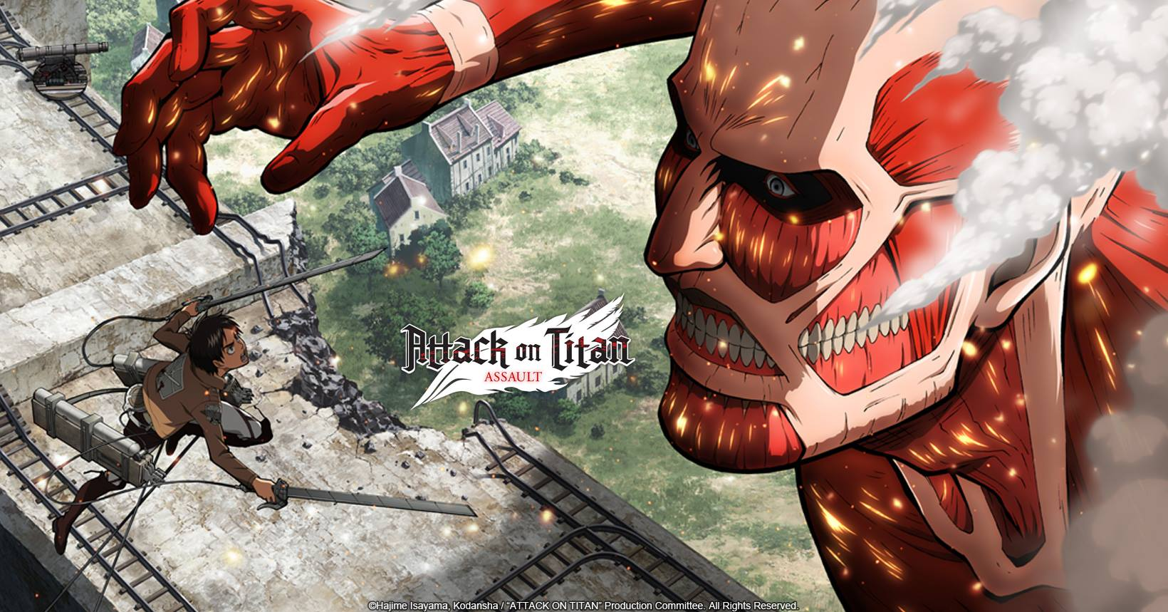 Attack on Titan Assault mod and apk download for pc, ios and android