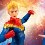 Captain Marvel gets an ARTFX+ statue from Kotobukiya