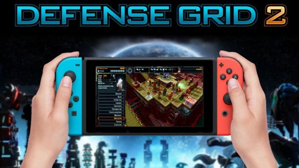 Defense Grid 2 arrives on Nintendo Switch
