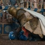The Mountain takes on the Bud Knight in Budweiser's Game of Thrones Super Bowl ad