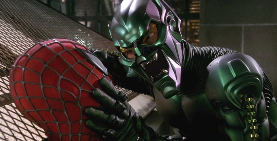 Willem Dafoe reflects on his Green Goblin role in Sam ...